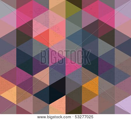 Seamless Triangle Pattern Backgound Texture