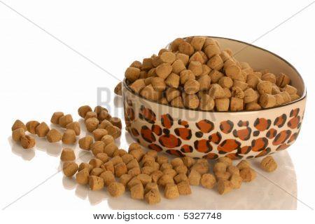 Full Bowl Of Dog Food