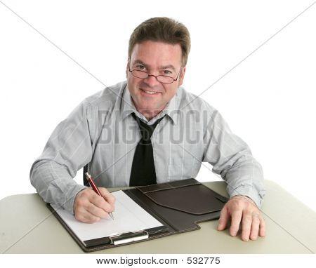 Office Worker - Helpful