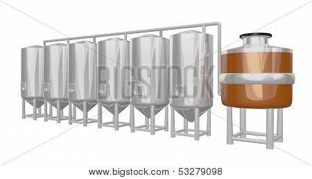 beer brewery system