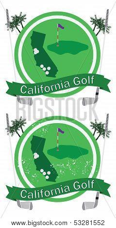 Retro California Golf