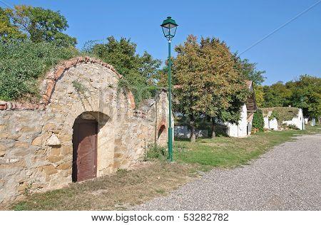 Wine Cellar,Burgenland,Austria