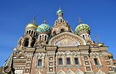 Church Of The Saviour On Spilled Blood.