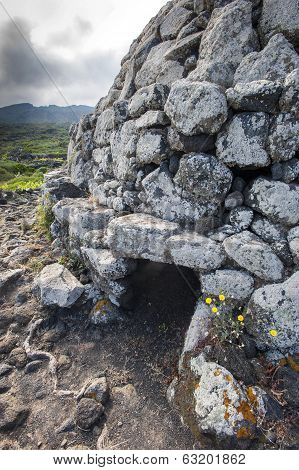 ancient Sesi tomb in Pantelleria