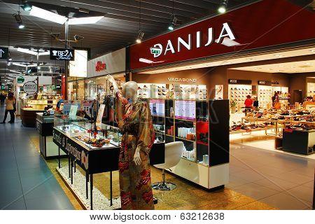Danija Store On November 25, 2013, Vilnius, Lithuania.