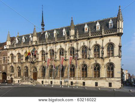 Town Hall Of Kortrijk, Belgium.
