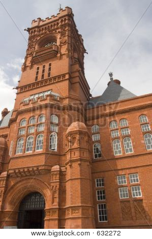 Cardiff Bay Landmark; Pierhead Building