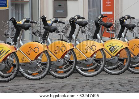 Automatic Bike Rental