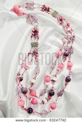 elegance beads of amethyst