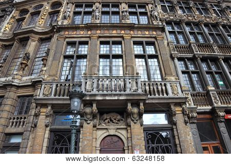 Grand Place Facade, Bruxelles
