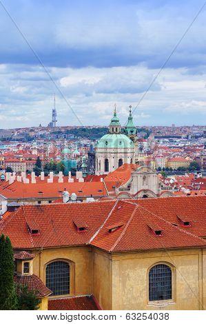 Prague view from Hradcanske namesti