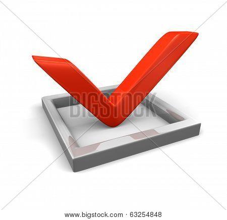 check box and check mark