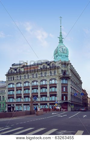 The Trade House of Esders and Scheefhals, Saint Petersburg
