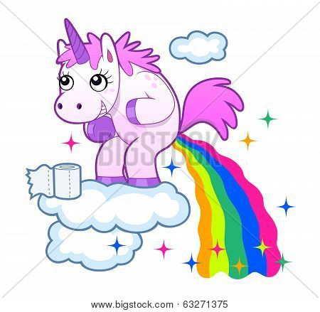 pooping unicorn