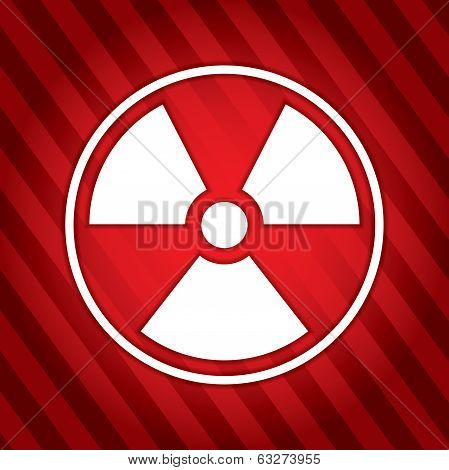 Danger - Radioactive Sign