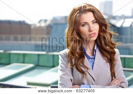 Real Estate Agent Woman