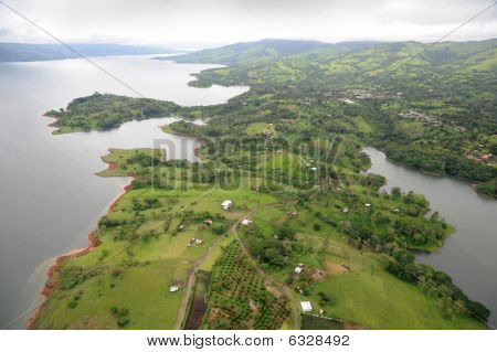 Aerial view in Costa Rica
