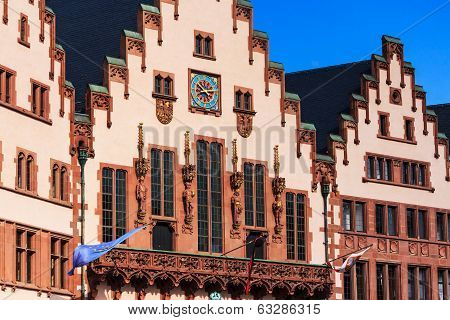 Town Hall in Frankfort on Main, Germany