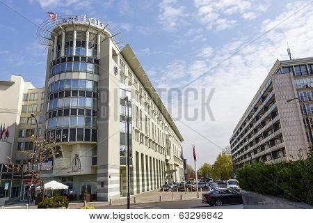 Sheraton Hotel In Warsaw