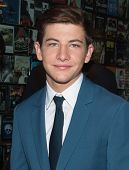 NEW YORK-APR 9: Actor Tye Sheridan attends the Lionsgate & Roadside Attractions with The Cinema Soci