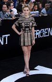 LOS ANGELES - MAR 18:  Kiernan Shipka arrives to the 'Divergent' Los Angeles Premiere  on March 18,