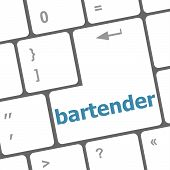Message Bartender On Enter Key Of Keyboard