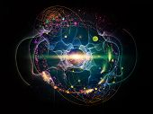 picture of nanotechnology  - Elementary Particles series - JPG