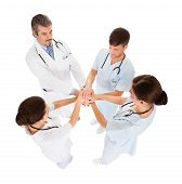 Doctors Stacking Hands