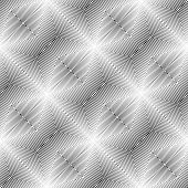 Design Seamless Monochrome Diagonal Geometric Pattern