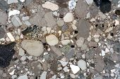 picture of paving stone  - Closeup of a beautiful marble stone texture - JPG