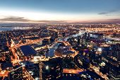 picture of cbd  - A view of the Yarra River - JPG