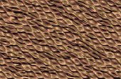 pic of cell block  - Abstract textured metallic background with the shiny cells relief pattern - JPG