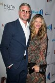 LOS ANGELES - APR 12:  Eric Dane, Rebecca Gayheart at the GLAAD Media Awards at Beverly Hilton Hotel