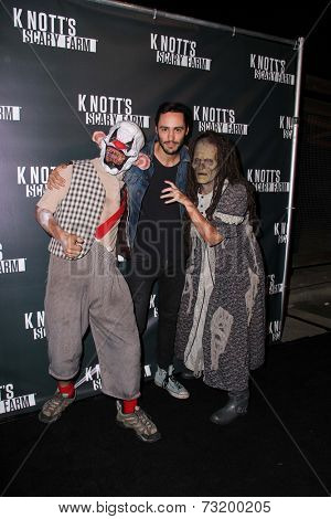 LOS ANGELES - OCT 3:  Richard Brancatisano at the Knott's Scary Farm Celebrity VIP Opening  at Knott's Berry Farm on October 3, 2014 in Buena Park, CA