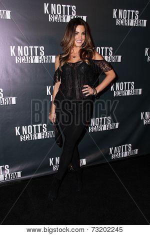 LOS ANGELES - OCT 3:  Jillian Murray at the Knott's Scary Farm Celebrity VIP Opening  at Knott's Berry Farm on October 3, 2014 in Buena Park, CA