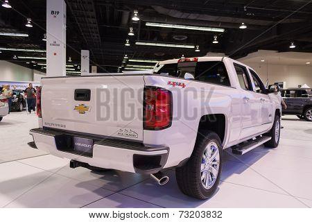 2015 Chevrolet Silverado High Country 4Wd Crew At The Orange County International Auto Show