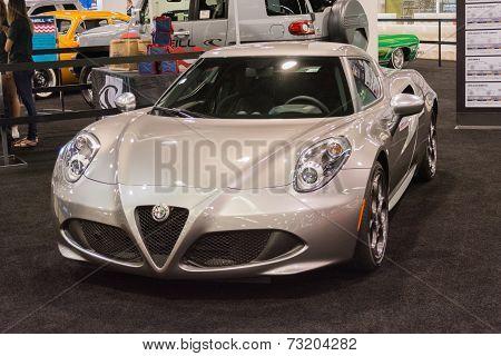 Alfa Romeo 4C At The Orange County International Auto Show