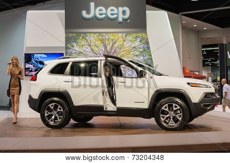 Jeep Cherokee 2015 At The Orange County International Auto Show