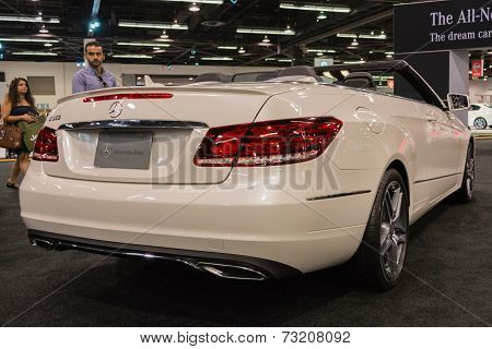 2015 Mercedes-benz E 350 Convertible At The Orange County International Auto Show