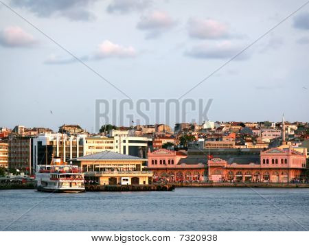 Kadikoy Port in Istanbul