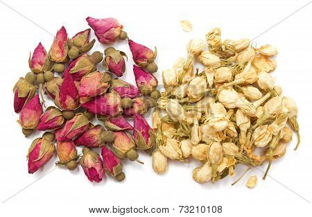 Jasmine And Rose Dry Buds