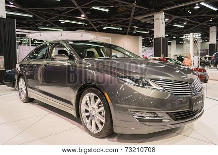 Lincoln Mkz At The Orange County International Auto Show
