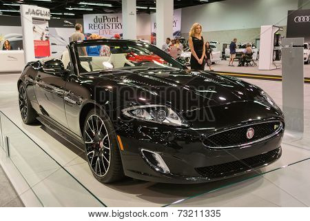 2015 Jaguar Xk Final Fifty At The Orange County International Auto Show