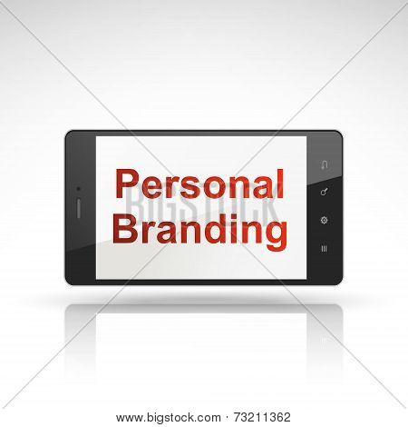 Personal Branding Words On Mobile