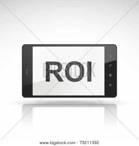 Roi Word On Mobile Phone