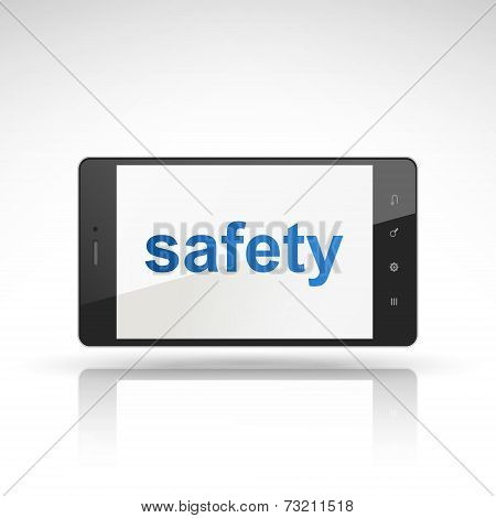 Safety Word On Mobile Phone