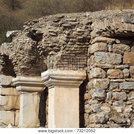 Ancient city Ephesus in Turkey