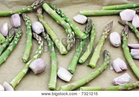 Asparagus And Shallots