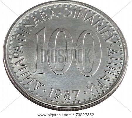 100 Yugoslav Dinar