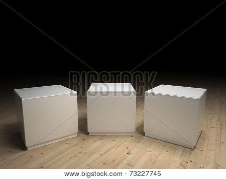 White Podiums